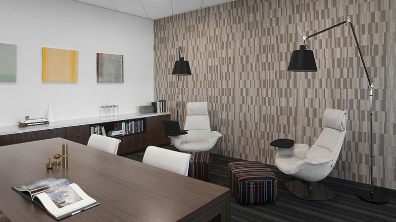 Corporate Interior Design Hedge Fund Lounge Seating