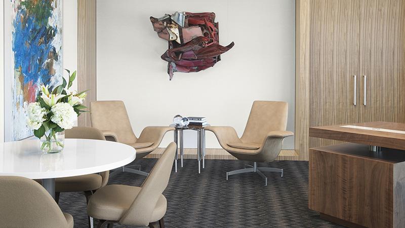 Corporate Interior Design Hedge Fund Private Office Seating