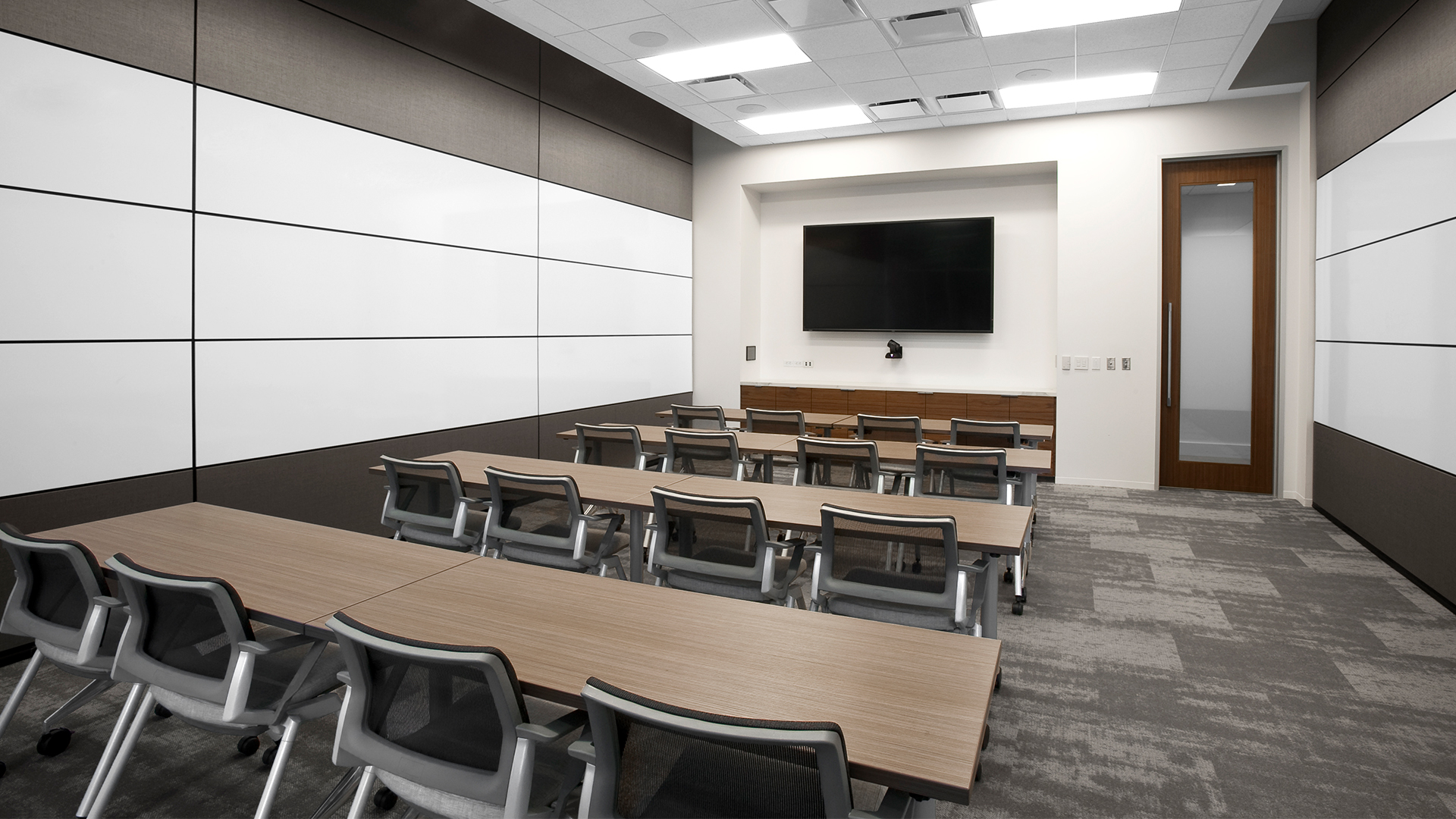 Corporate Interior Design Newfield Conference Center Training Room
