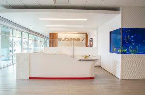 SUBSEA 7 Reception Office Design