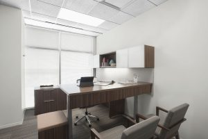 Corporate Interior Design Newfield Exploration Private Office