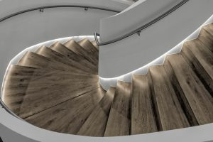 Corporate Interior Design Musket Corporation Houston Curved Staircase