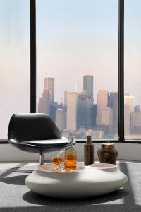 Corporate Interior Design Musket Corporation Houston Private Office Seating Area