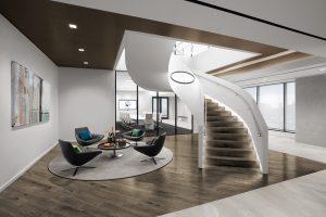 Corporate Interior Design Entry Door Centennial Denver