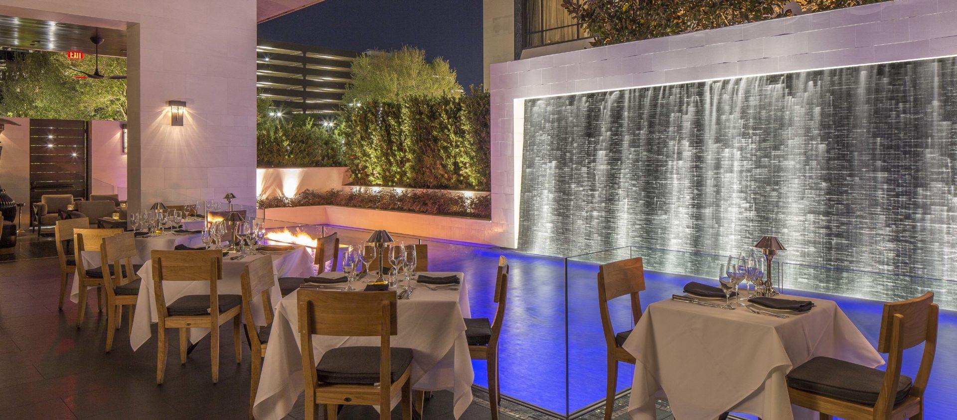 Mastro's Houston Creates In-Town Oasis