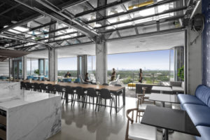 Lockton Corporate Office Outdoor Space with Terrace View