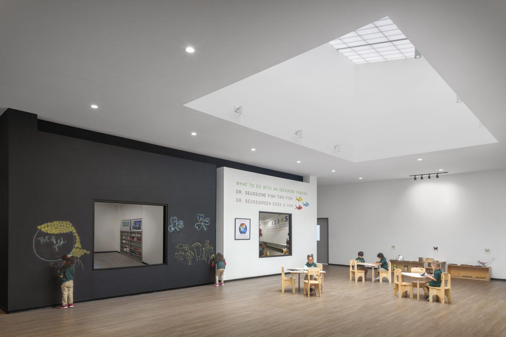 Petite Maison Montessori School Classroom Design