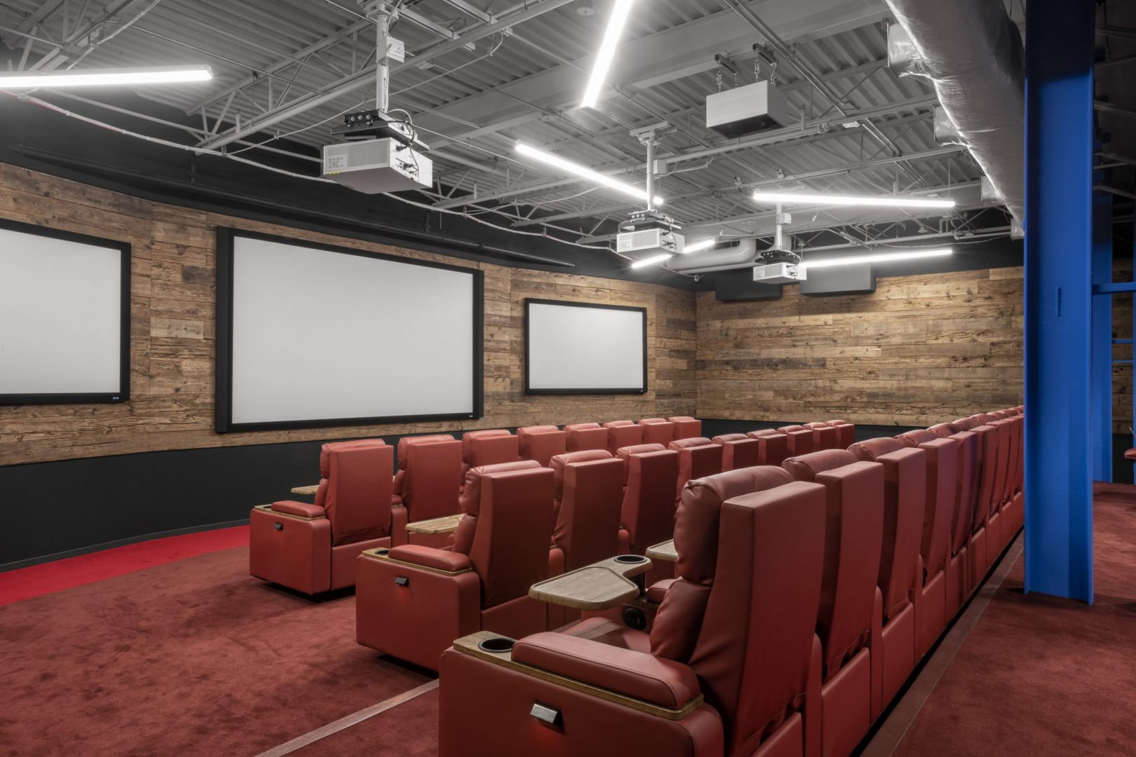 Corporate Interior Design Cinema Seating The Cannon Houston