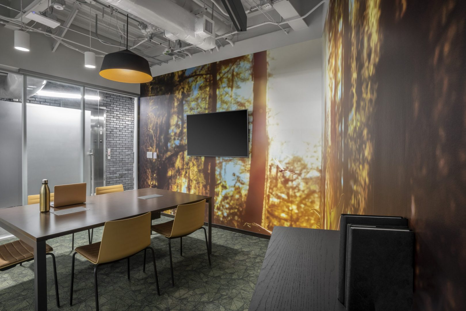 Corporate Interior Design Meeting Room
