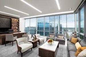 Corporate Interior Design Newfield Exploration Executive Floor Private Office