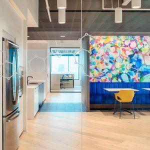 Corporate Interior Design Nova Chemicals Houston Breakroom