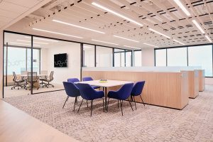 Corporate Interior Design Nova Chemicals Houston Meeting Area
