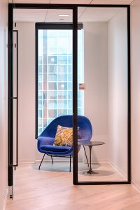 Corporate Interior Design Nova Chemicals Houston Private Phone Room