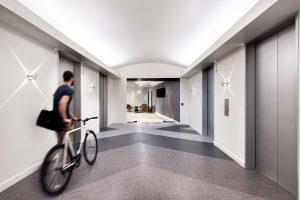 Corporate Interior Design Elevator Lobby