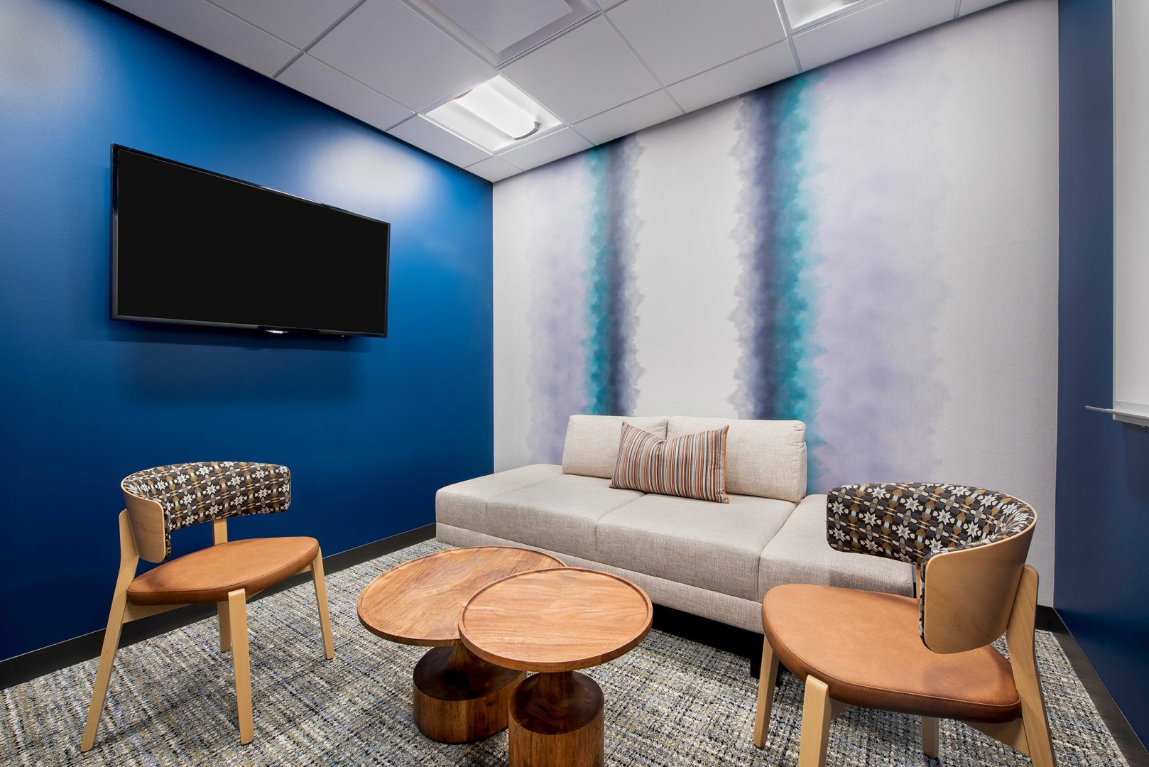 Corporate Interior Design Huddle Room XACTLY CORP DENVER