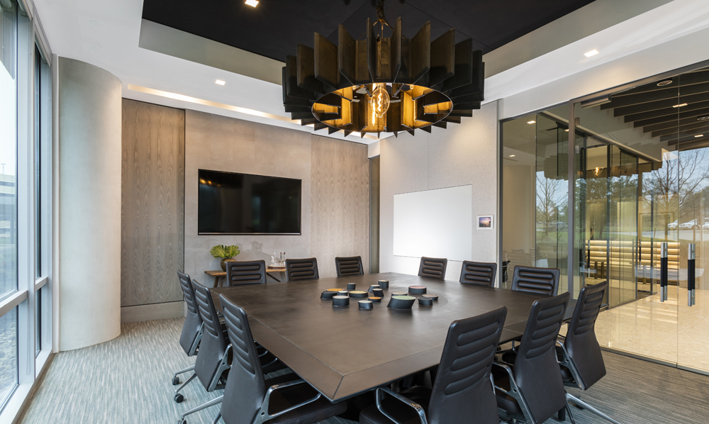 Corporate Interior Design Conference Room Dynamis Power Solutions