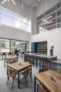 Corporate Technology Client AUSTIN Interior Design Break Room