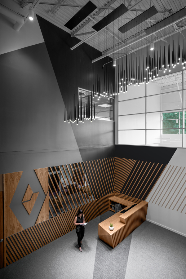 Corporate Technology Client AUSTIN Interior Design Lobby