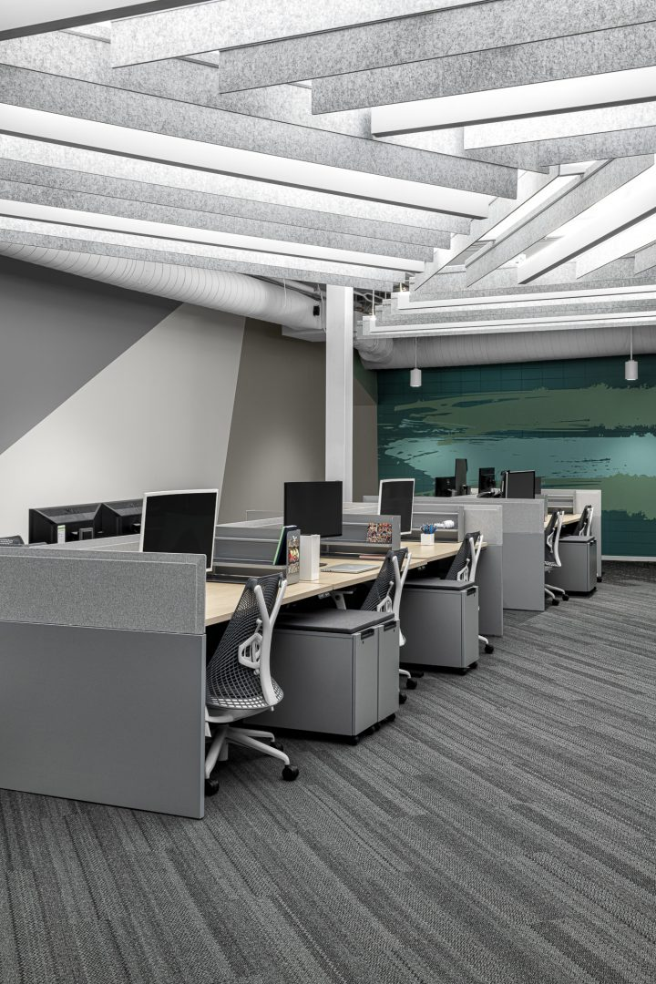 Corporate Technology Client AUSTIN Interior Design Open-Office