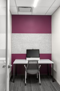 Corporate Technology Client AUSTIN Interior Design Phone-Room