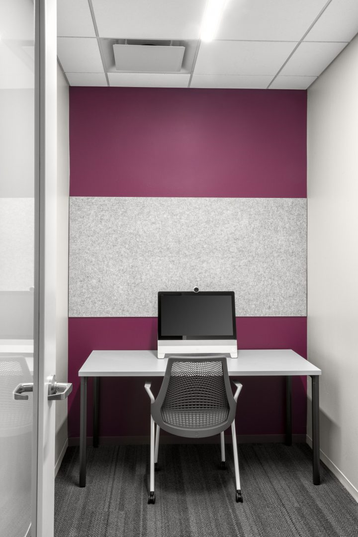 Corporate Technology Client AUSTIN Interior Design Phone-Room