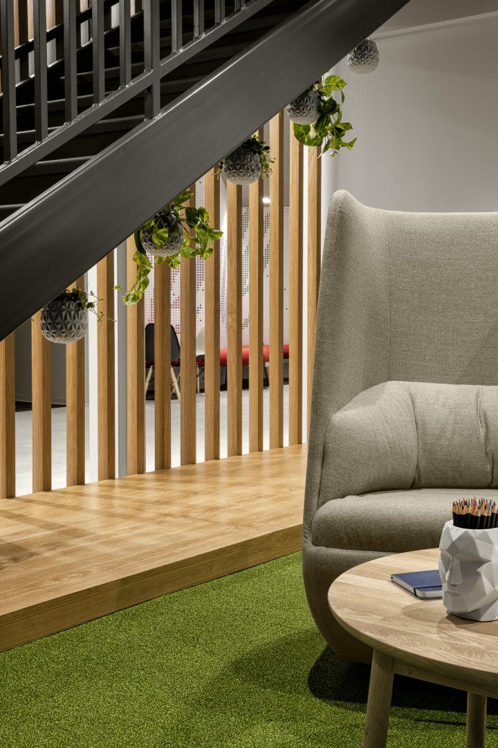 Corporate Technology Client AUSTIN Interior Design Stairwell