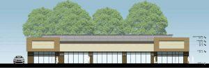 Retail Complex Facade Design Architecture 2500 City West Houston