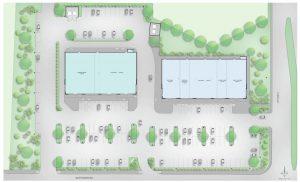 Retail Complex Design Site Plan 2500 City West Houston