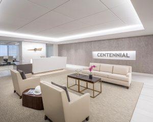 Centennial Resource Development Denver Reception Lobby