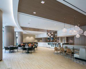 lobby renovation lobby area with seating