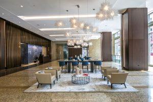 lobby renovation lobby seating area
