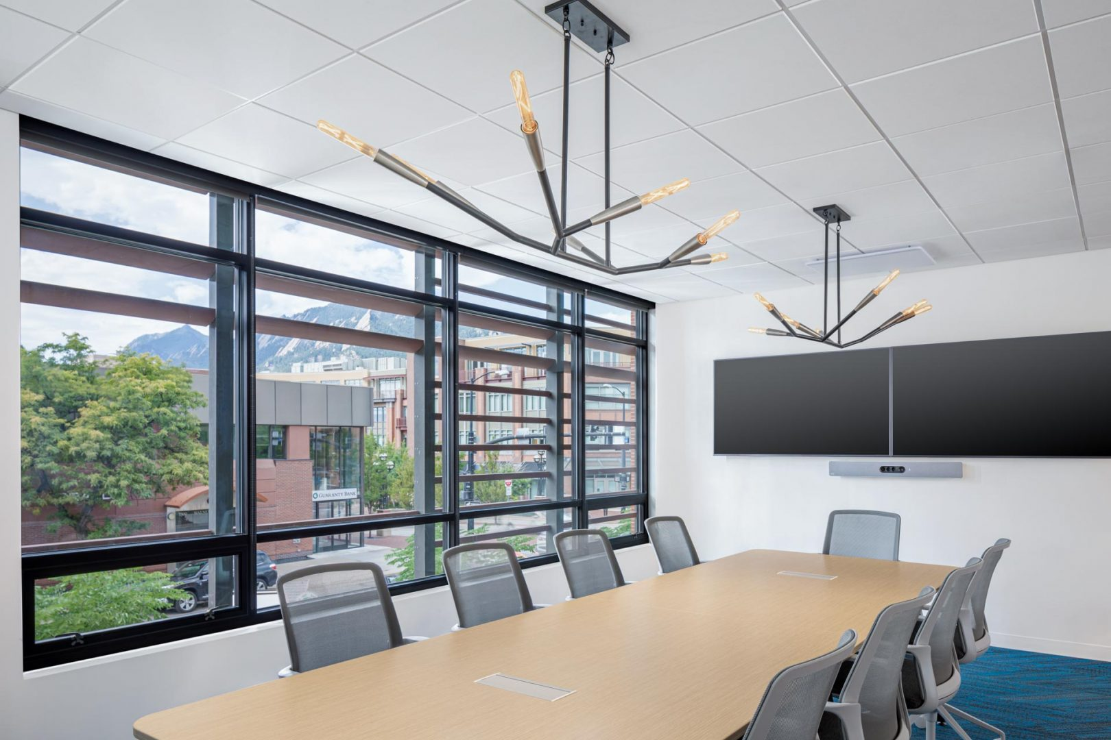 Corporate Interior Design Conference Room with View Cognizant Denver