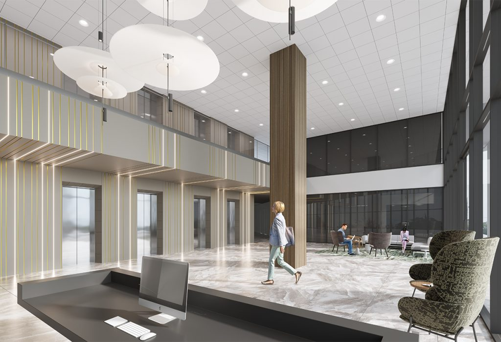 Memorial Towers/Woodway Tower Lobby Renovations