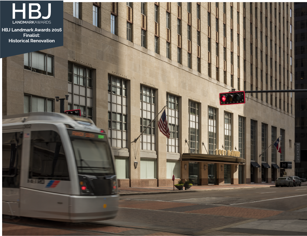 Architecture Building Repositioning Corporate Interior Design 1001 McKinney Street Presence HBJ Award