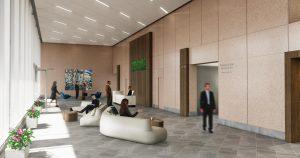 410 17th Street Lobby Reception Design Denver Colorado Low Res