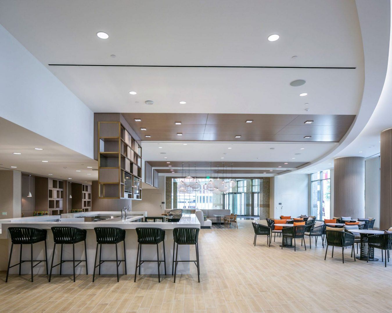 Lobby Renovation Architecture Building Repositioning Design Hospitality Dining