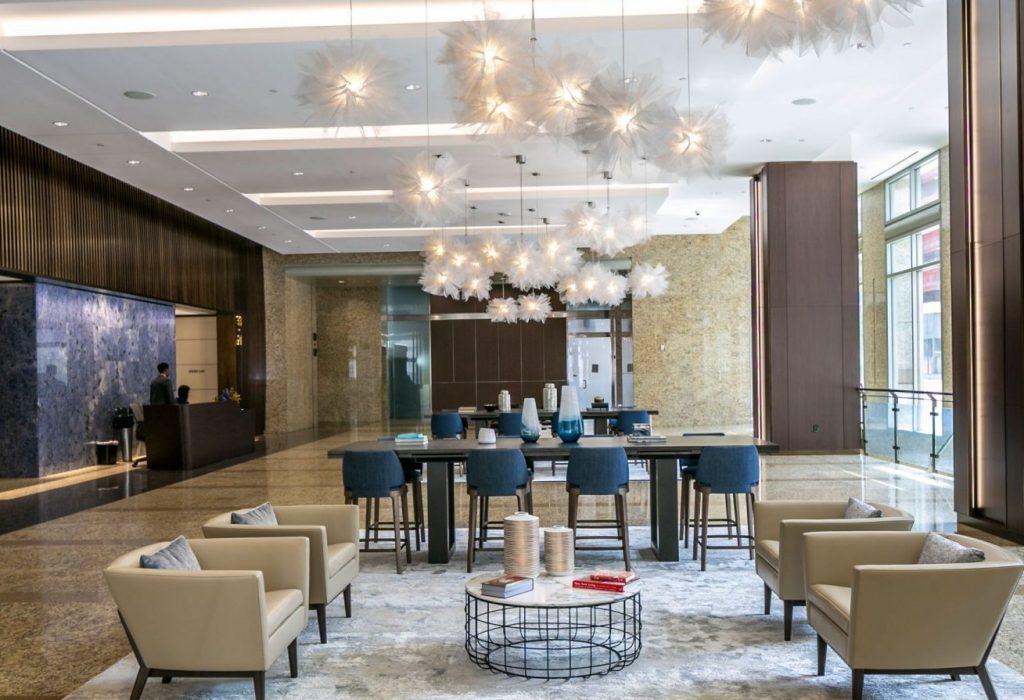 717 Texas Lobby Renovation