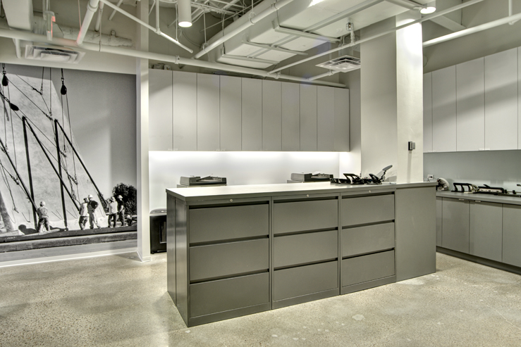 Corporate Interior Design Modern Office Avera Companies Investment Firm Work Area Copy Filing