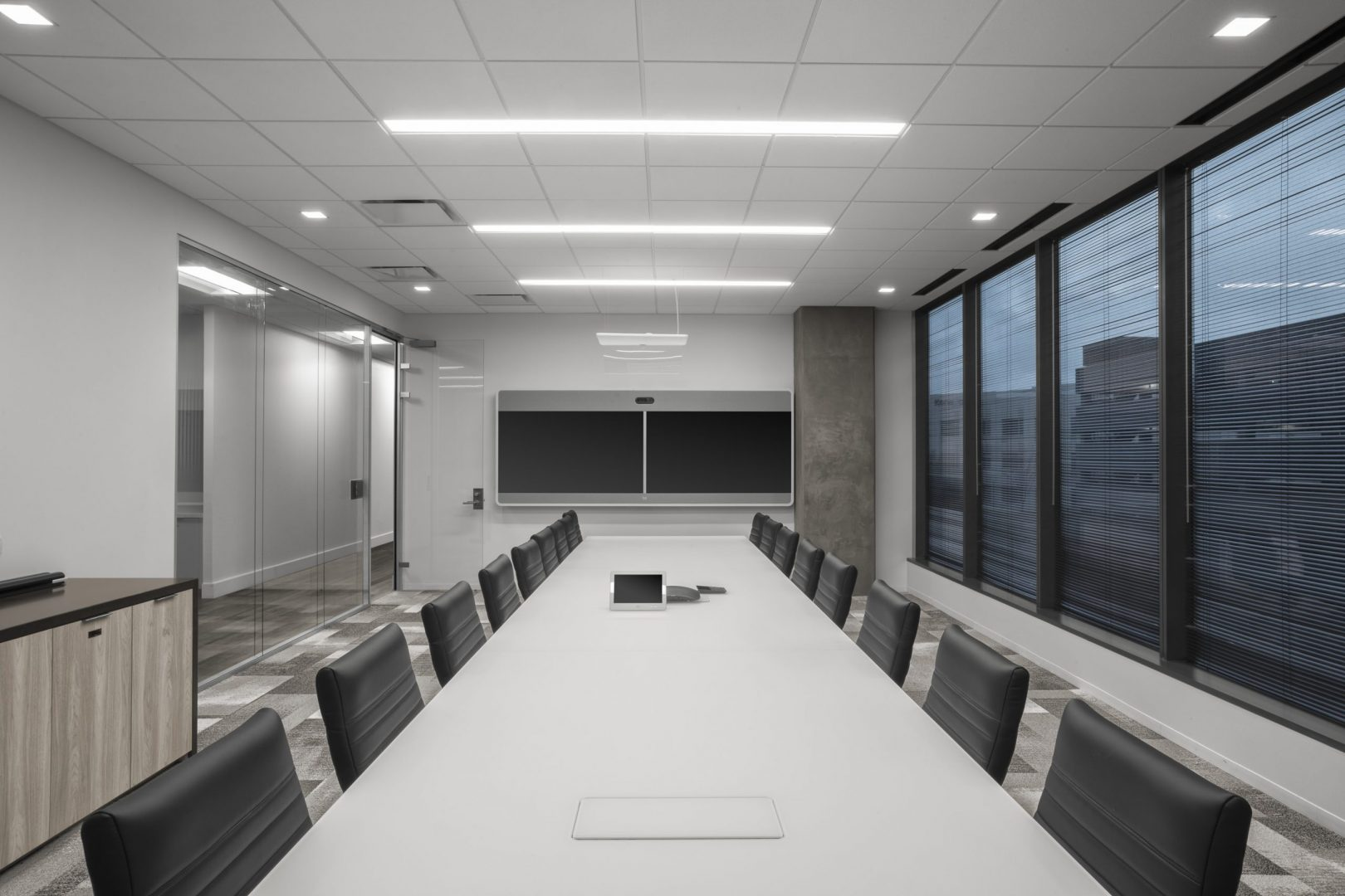 Corporate Financial Interior Design Cardtronics Conference Room