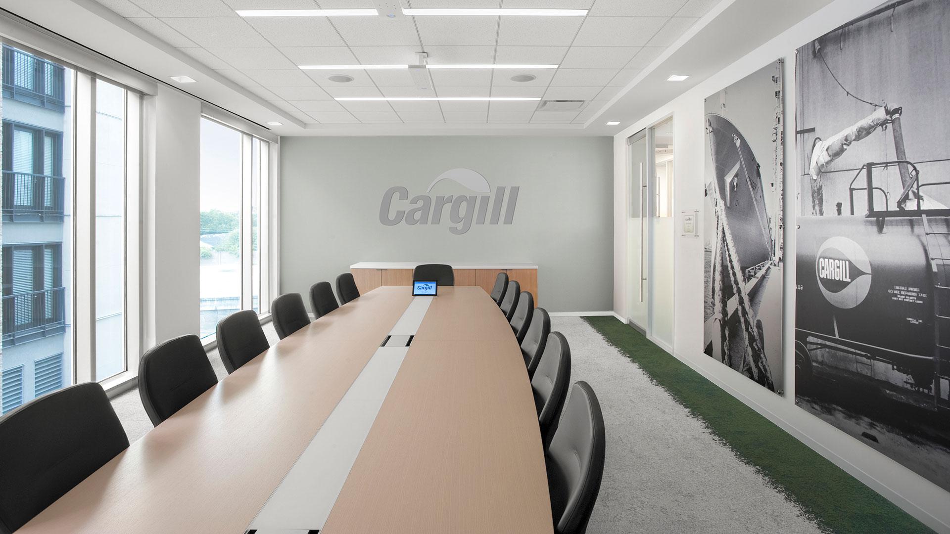 Corporate Interior Design City Center Houston Conference Table