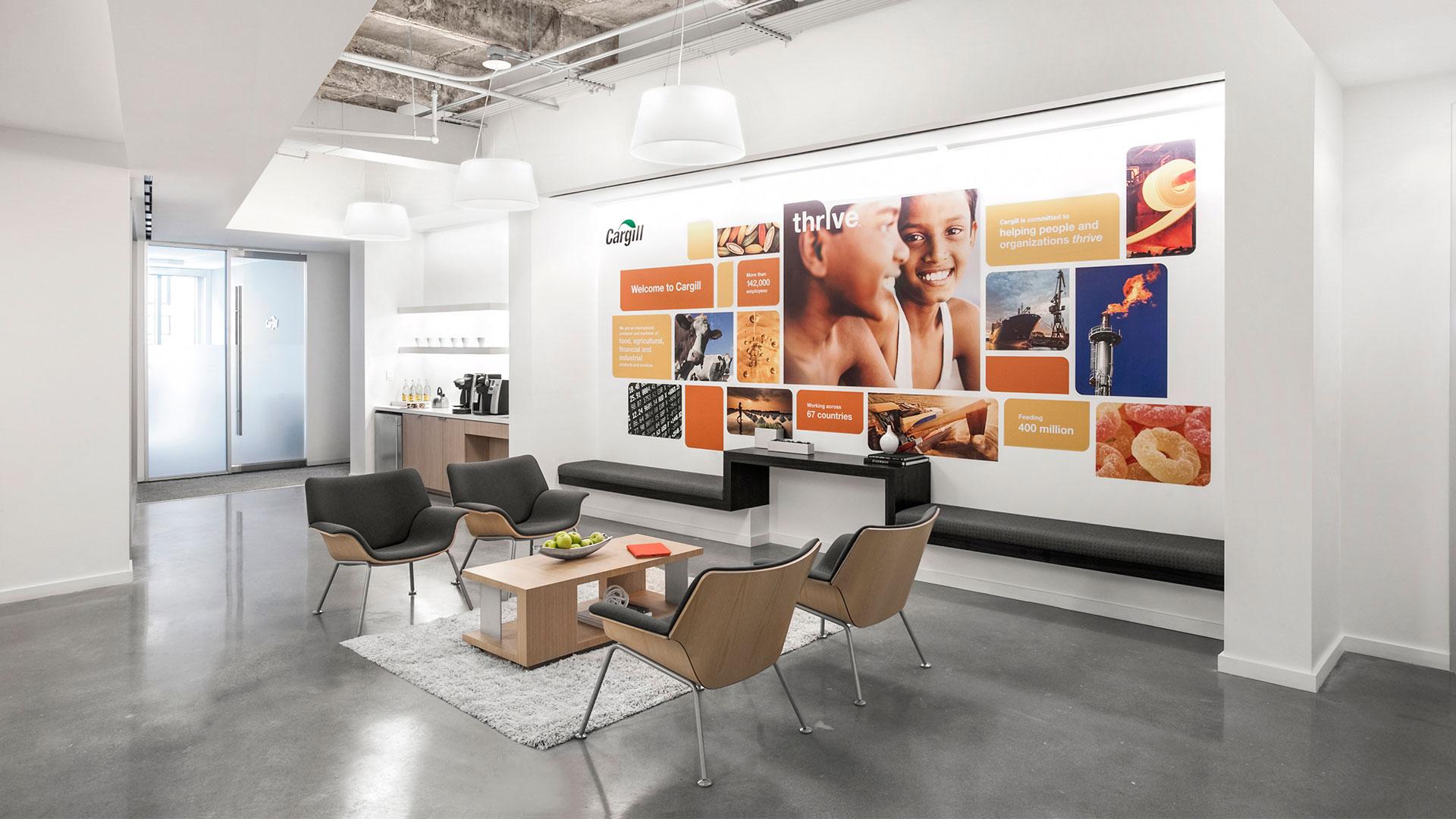 Corporate Interior Design City Center Houston Lobby Coffee Bar Seating