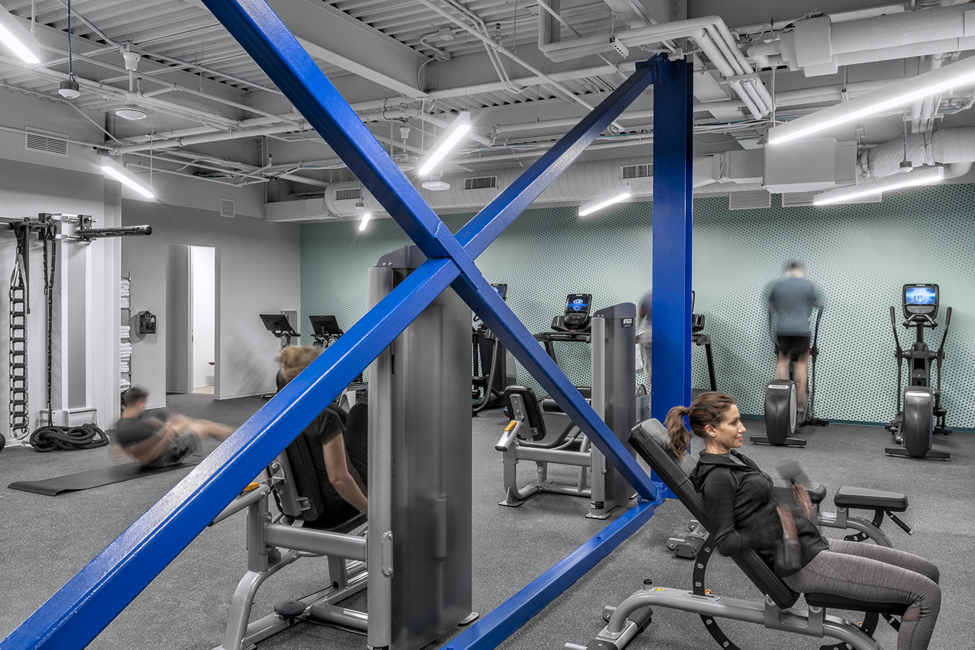 Workplace Interior Design Technology Client Austin Fitness Center