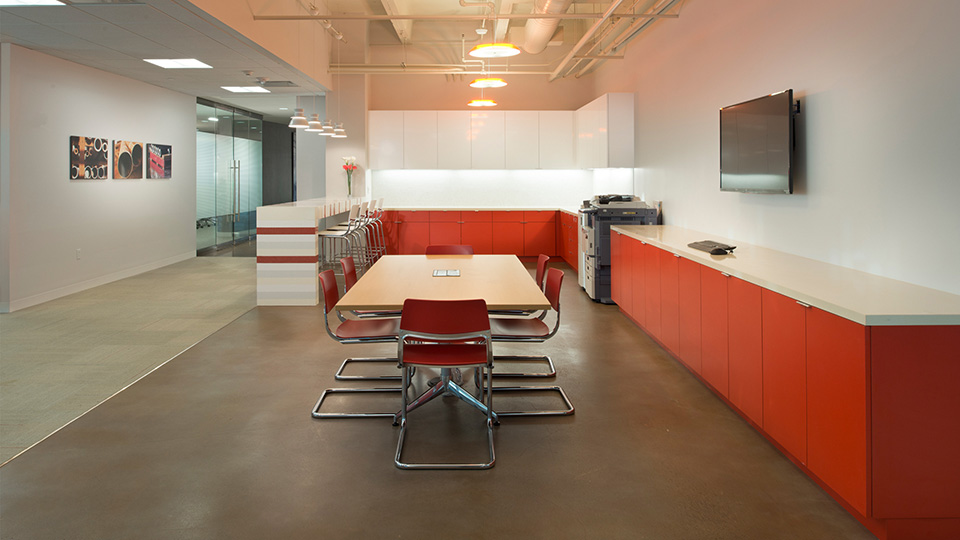 Corporate Interior Design Houston Energy Alloys Copy Break Room Meeting