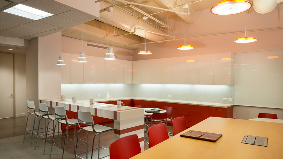 Corporate Interior Design Houston Energy Alloys Coffee Bar Island