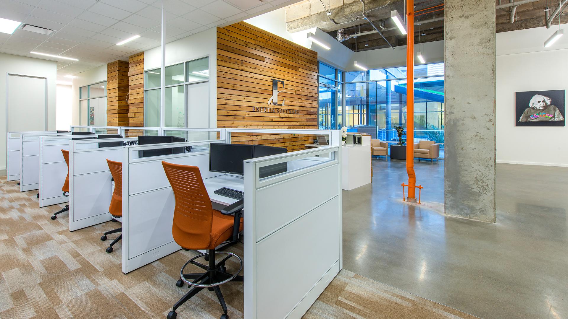 Workplace Interior Design Enertia Houston Workstations
