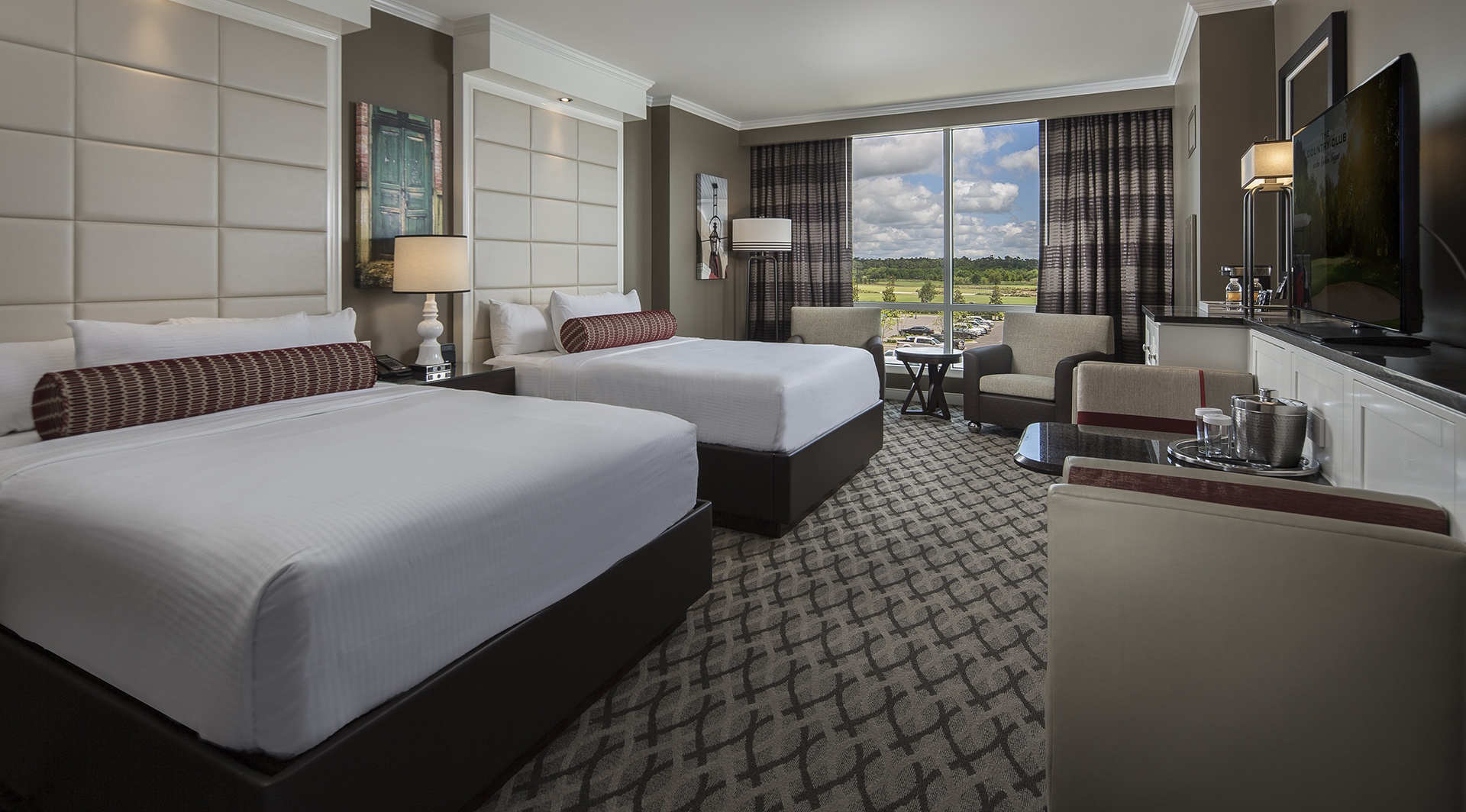 Hospitality Architecture Interior Design Golden Nugget Lake Charles Rush Tower Double Queen Room