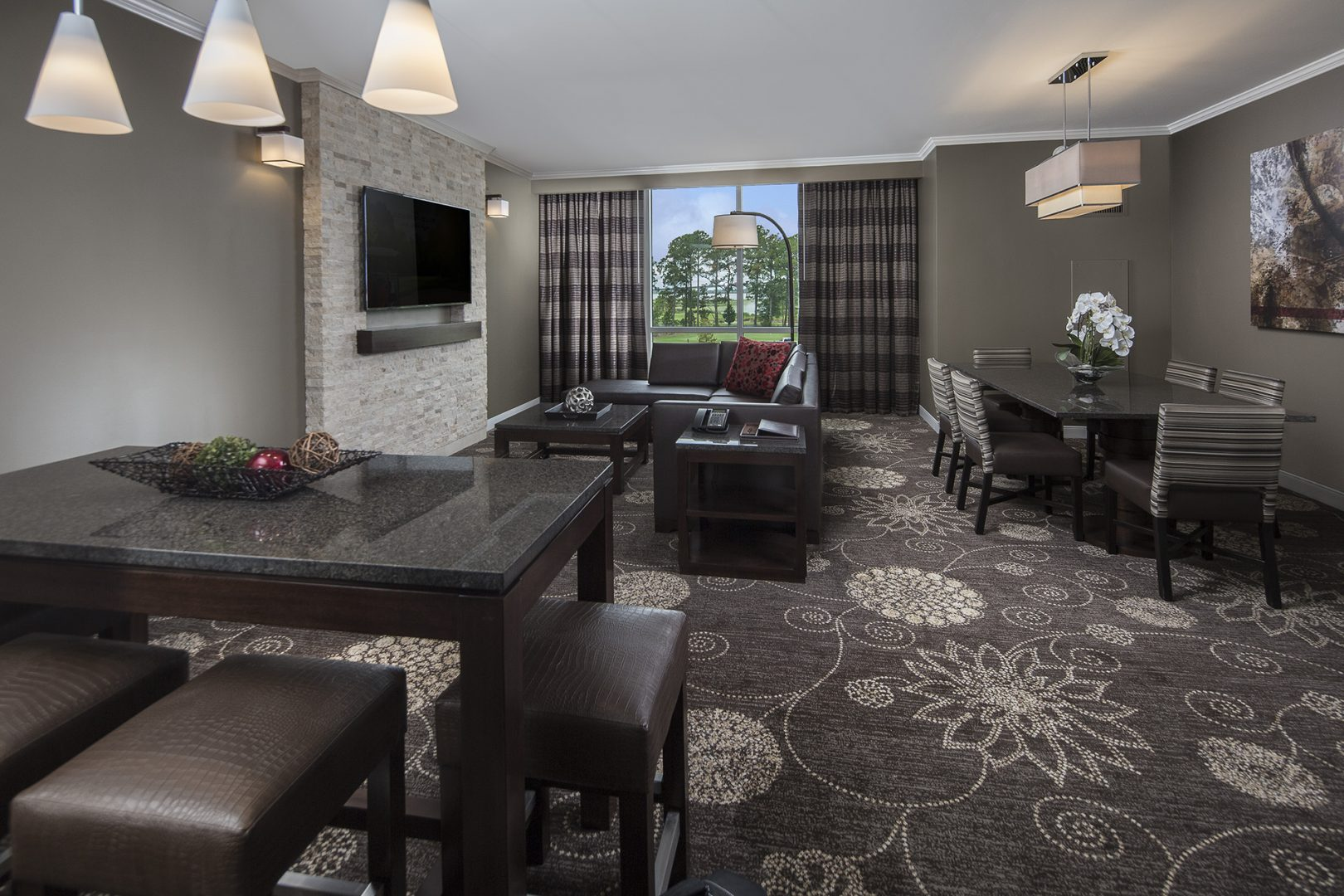Hospitality Architecture Interior Design Golden Nugget Lake Charles Rush Tower Suite