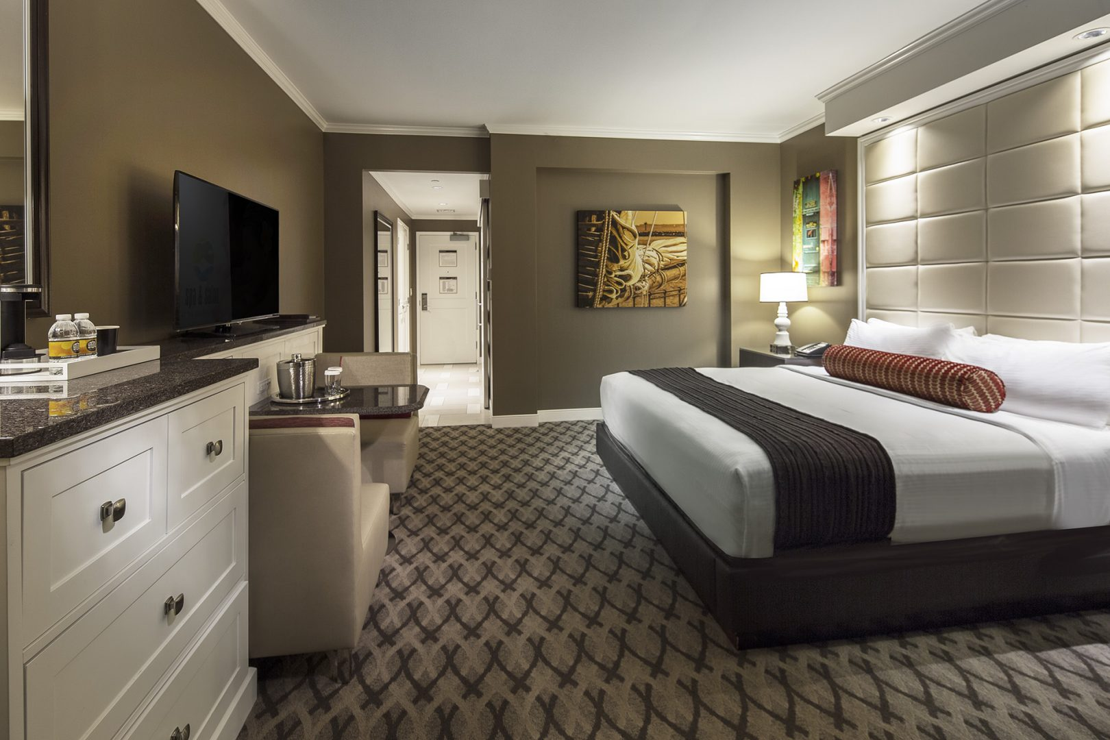 Hospitality Architecture Interior Design Golden Nugget Lake Charles Rush Tower King Room