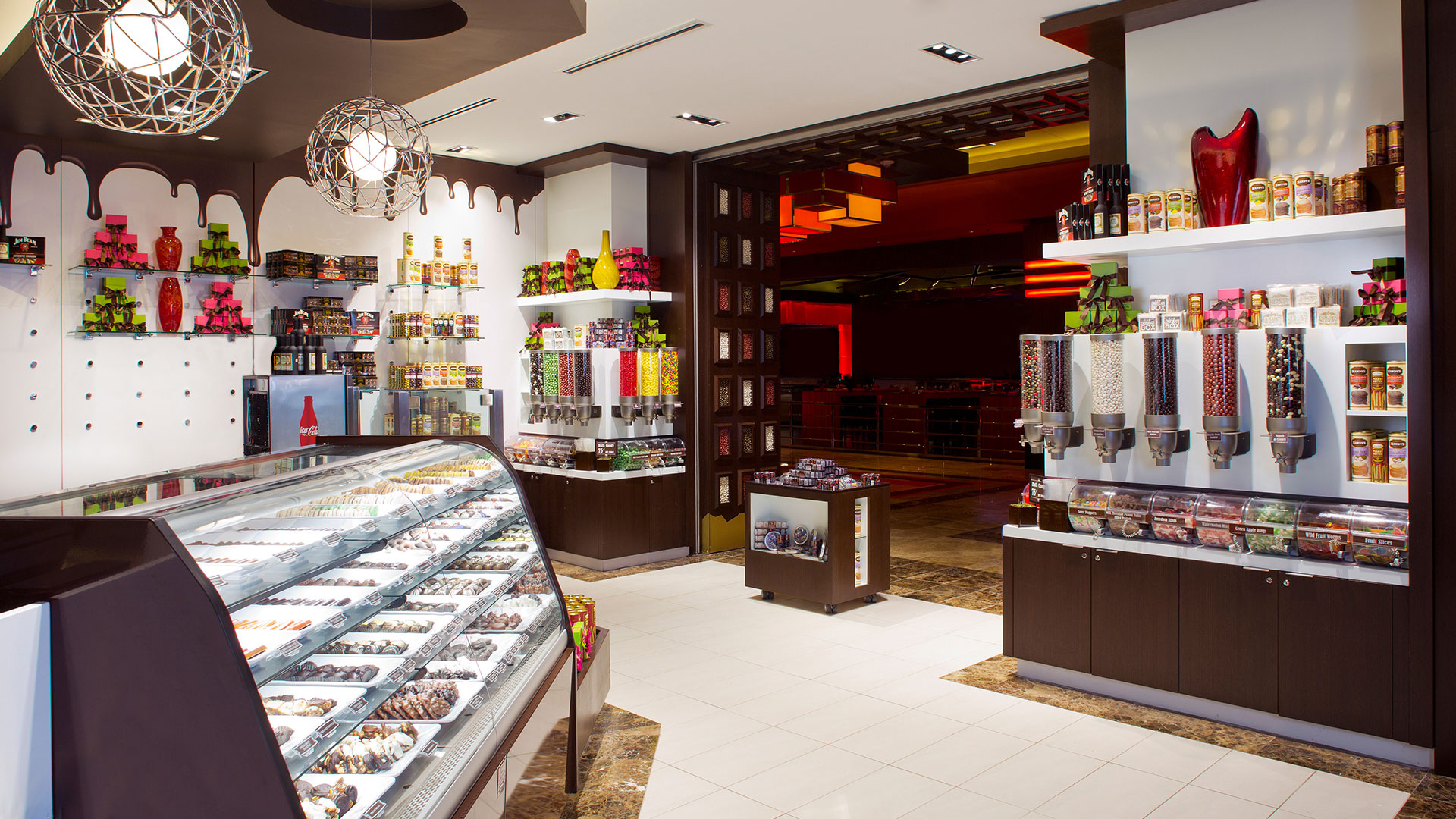 Commercial Retail Design Golden Nugget Lake Charles Landry's Boutique Luxury Chocolatier