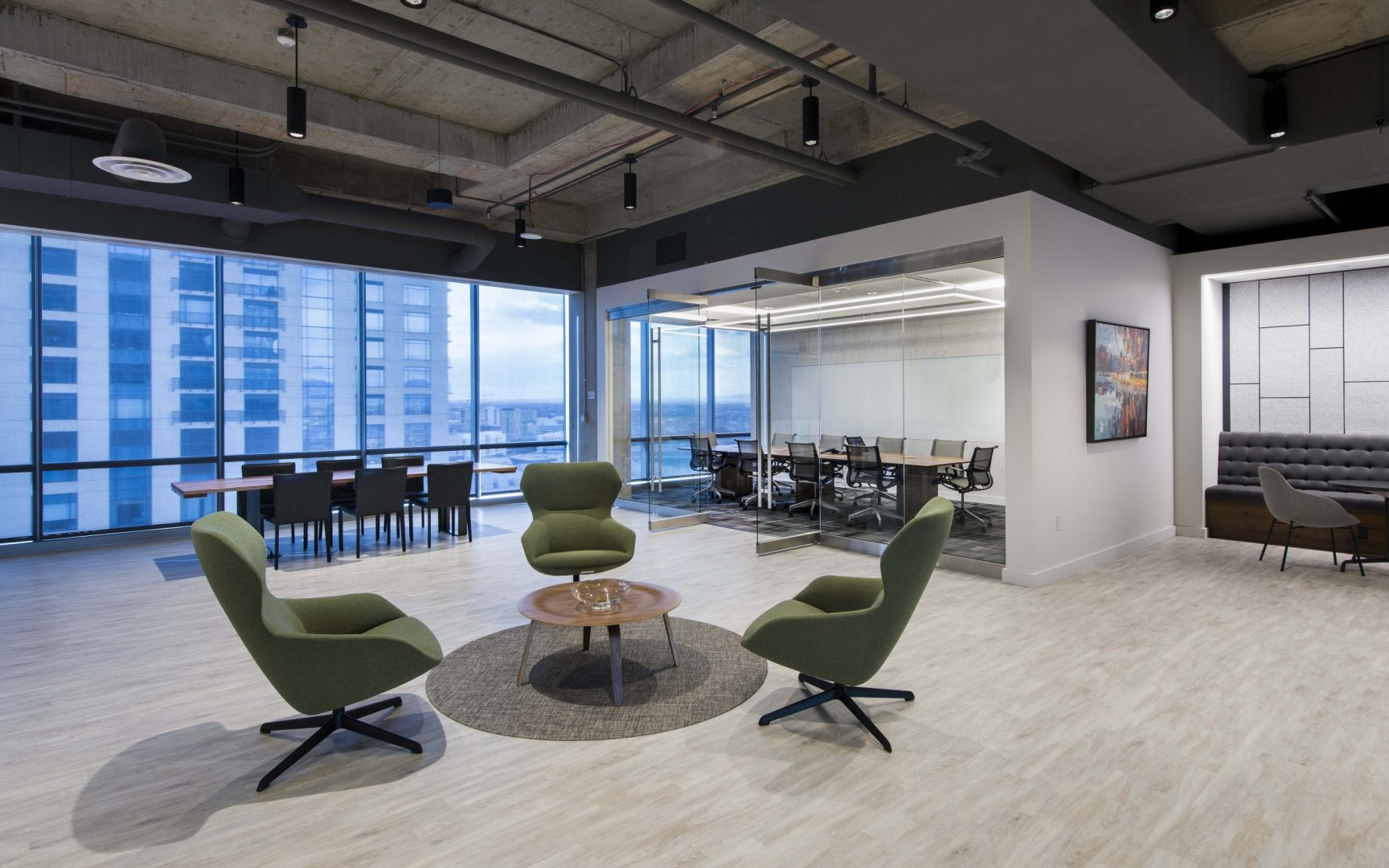 Investment Management Company Denver Corporate Interior Design Seating Group